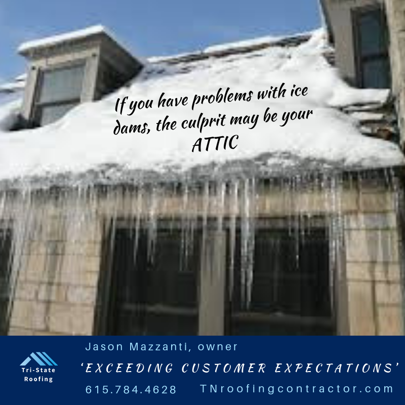 Proper Attic Ventilation Is Important To Remove Excess Moisture Thus Preventing Condensation That Can Damage Roof She Attic Ventilation Roof Sheathing Ice Dams