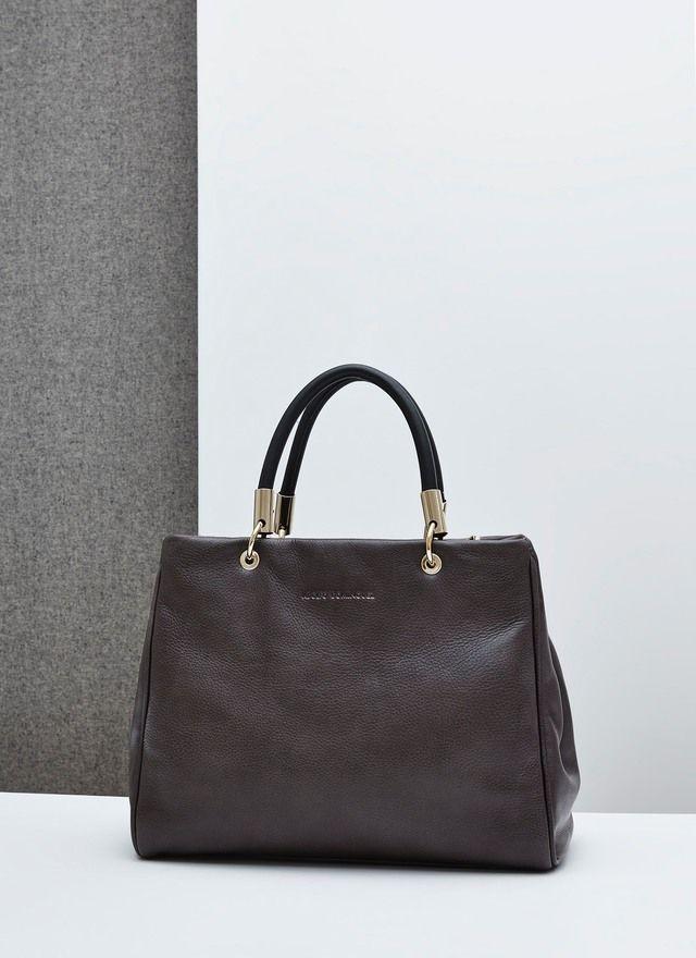 aaa69ff89 Citybag de piel soft - Bolsos grandes | Adolfo Dominguez shop online ...