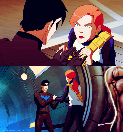 Season 2 Episode 10 Before The Dawn Nightwing, Bumble Bee -8803