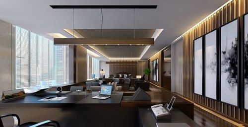 The Office Of Senior Management 3d Models In 2020 Office Interiors Home Decor Home