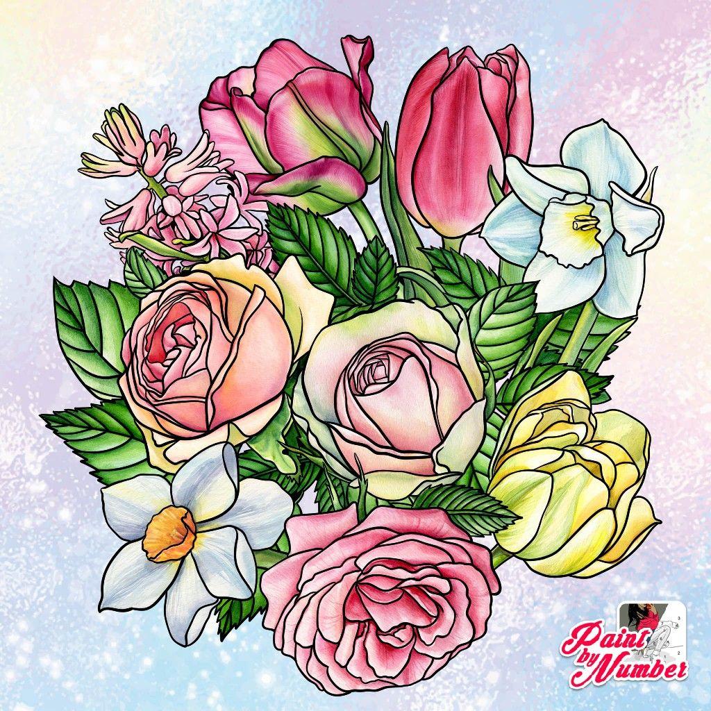 Pin By Heidi Gunia On Mandalas14 Flower Drawing Painting Pattern Art