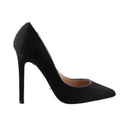 NEW ARRIVALS // 'AJANA' in Black Pony. #tonybianco #heels
