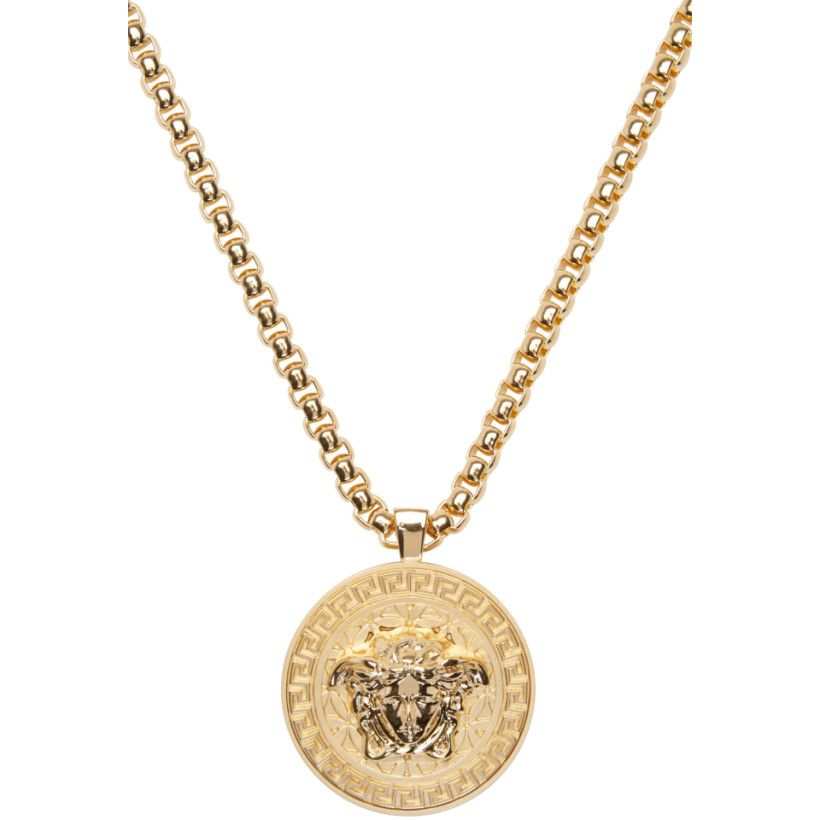 Versace gold medusa chain necklace j pinterest versace gold versace gold medusa chain necklace aloadofball Gallery