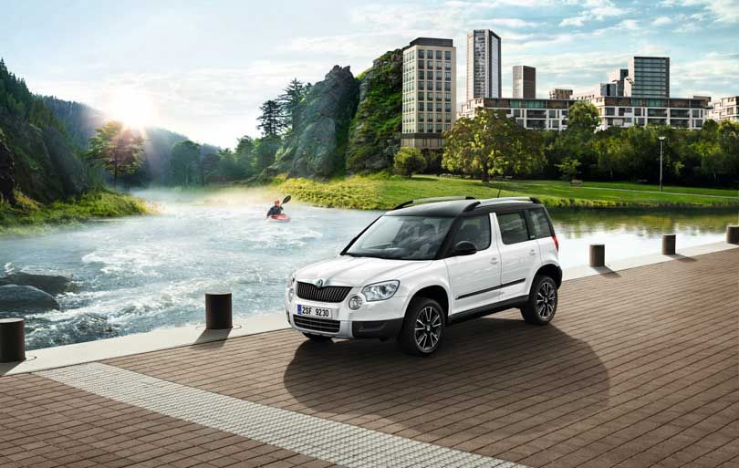 Skoda Yeti Adventure Starts Here Special Edition Yeti Adventure