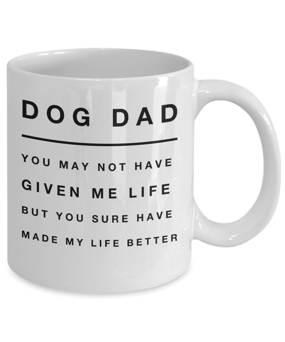 A mug for the best dog dad ever! 🐾 in 2020 Dog dad, Gift
