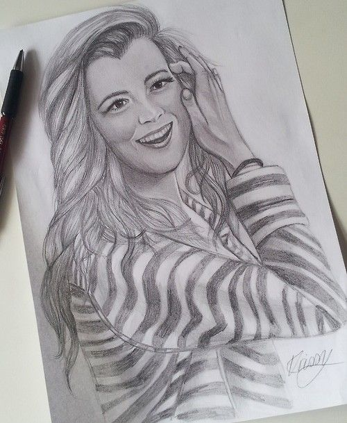 Cote de pablo pencil drawing sketch by kayrissy on deviantart