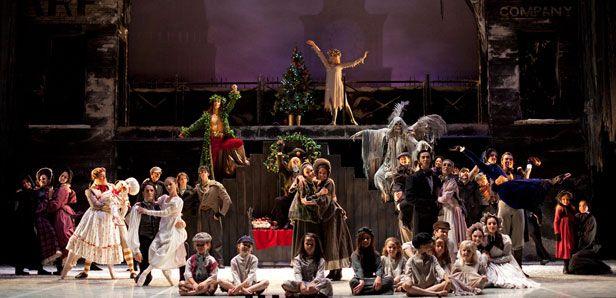 A Christmas Carol 2009 Cast.The Cast Of Northern Ballet S A Christmas Carol 2009 Photo