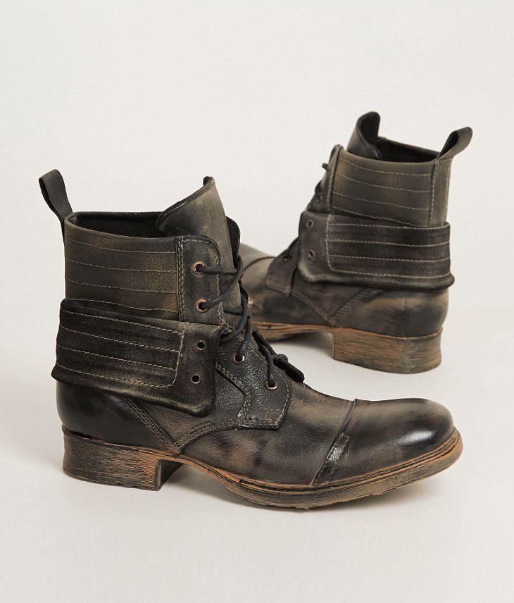 Roan® Romano Boot - Men s Shoes in Black Glove Rust  27b1fe9af4e