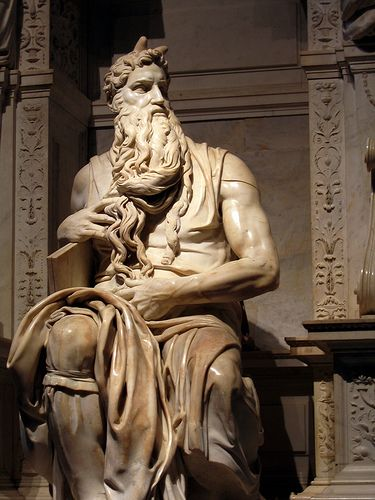 Michaelangelo's Moses in San Pietro in Vincoli, Rome - this picture (or any) doesn't do it justice.  Magnificant! Could not tear myself away!!!