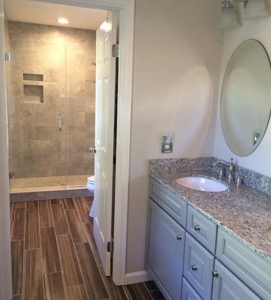 If you\u0027re renovating one bathroom in your home, this is an
