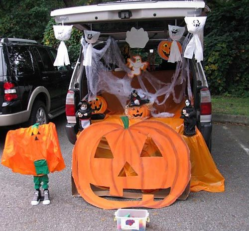 halloween ideas - Halloween Decorated Cars