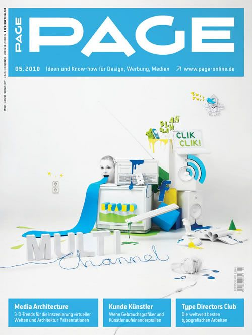 Awesome Magazine Cover Design | Repetition | Pinterest | A well ...