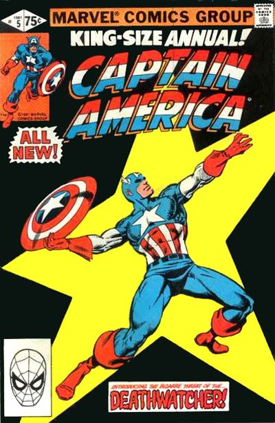Captain America (1968) - Annual 05 w other !!!!!!!!