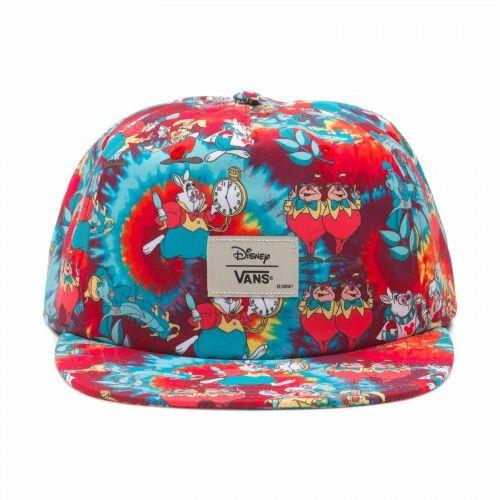 Men's Vans Basic Logo Embroidery Gold Leopard Mesh Back Trucker Snapback Hat - Pink