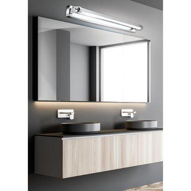 Kinkiet Lazienkowy Swing Ip20 Chrom Led Candellux Oswietlenie Nad Lustrem W Atrakcyjnej Cenie W S Bathroom Mirror Lighted Bathroom Mirror Bathroom Lighting