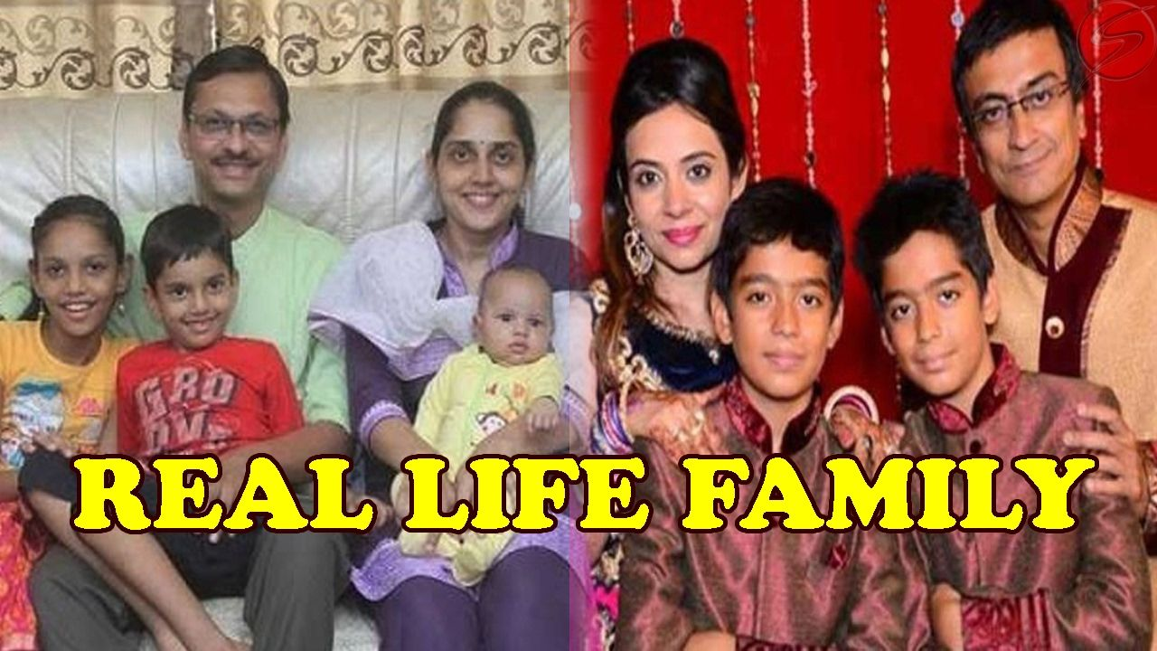 Real life family of taarak mehta ka ooltah chashmah Actors   Real     Real life family of taarak mehta ka ooltah chashmah Actors