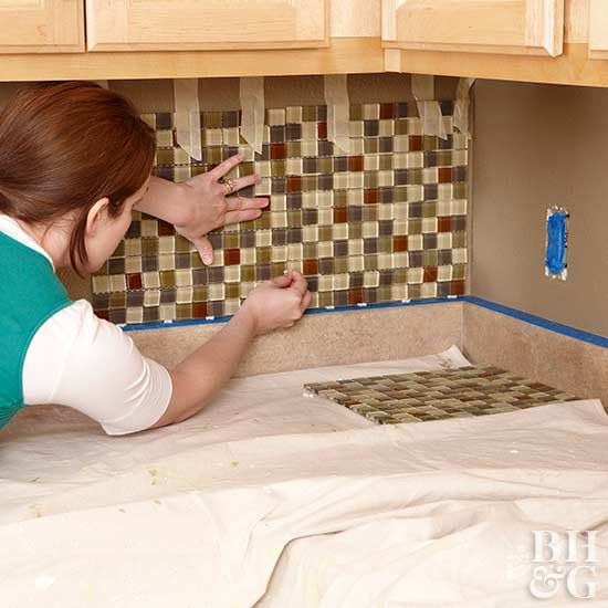 How to tile your backsplash mosaic tile sheets kitchens and wall give your kitchen a new look in just one weekend with a do it yourself tile backsplash it easy with our free printable guide and simple to install mosaic solutioingenieria Choice Image