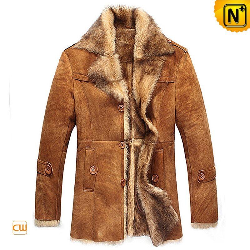 Men's Sheepskin Shearling Leather Fur