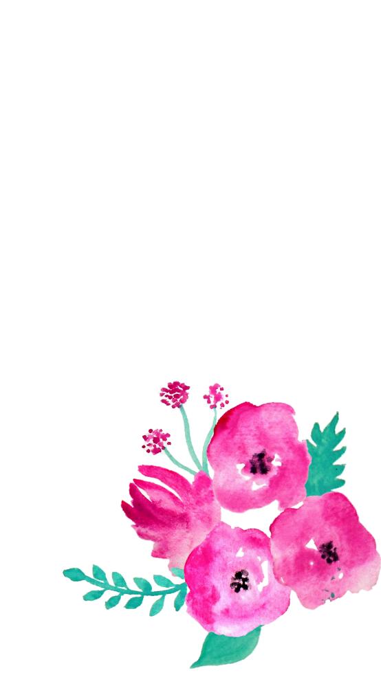 Free Screensaver Wallpapers Watercolour Flowers Fondos