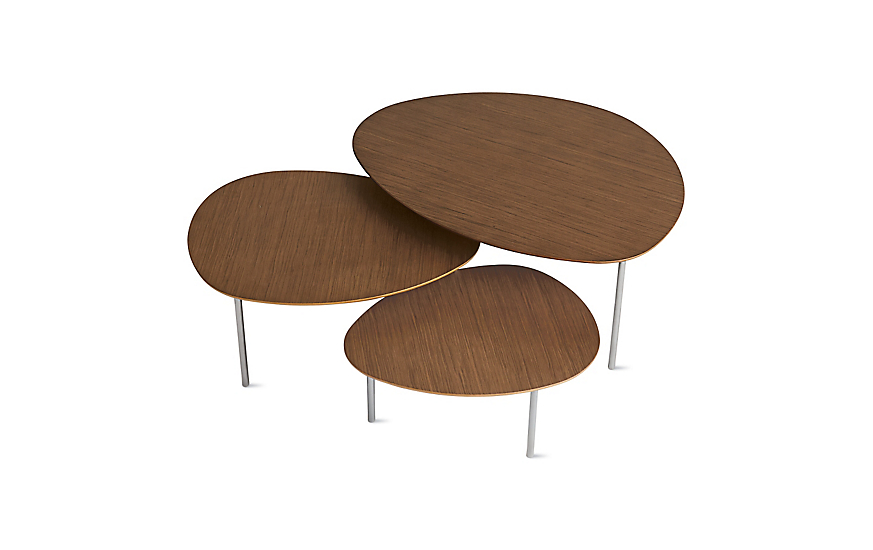Eclipse Nesting Tables Set Of 3 In 2020 Nesting Tables Modern