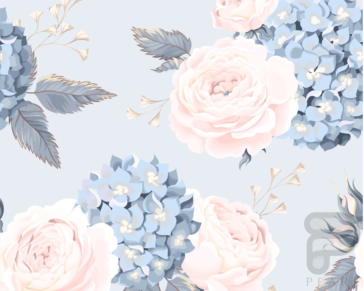 This Item Is Unavailable Etsy Phone Wallpapers Vintage Hydrangea Wallpaper Wallpapers Vintage