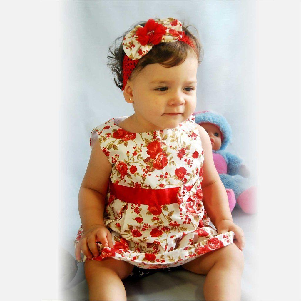 Vestido Infantil Princesa Alice by Maribel Pronta Entrega