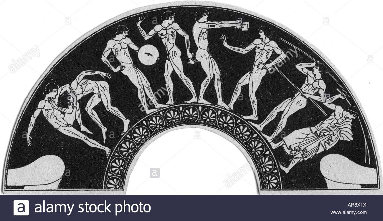 Image result for ancient olympic games art | Ancient Olympic Games ...