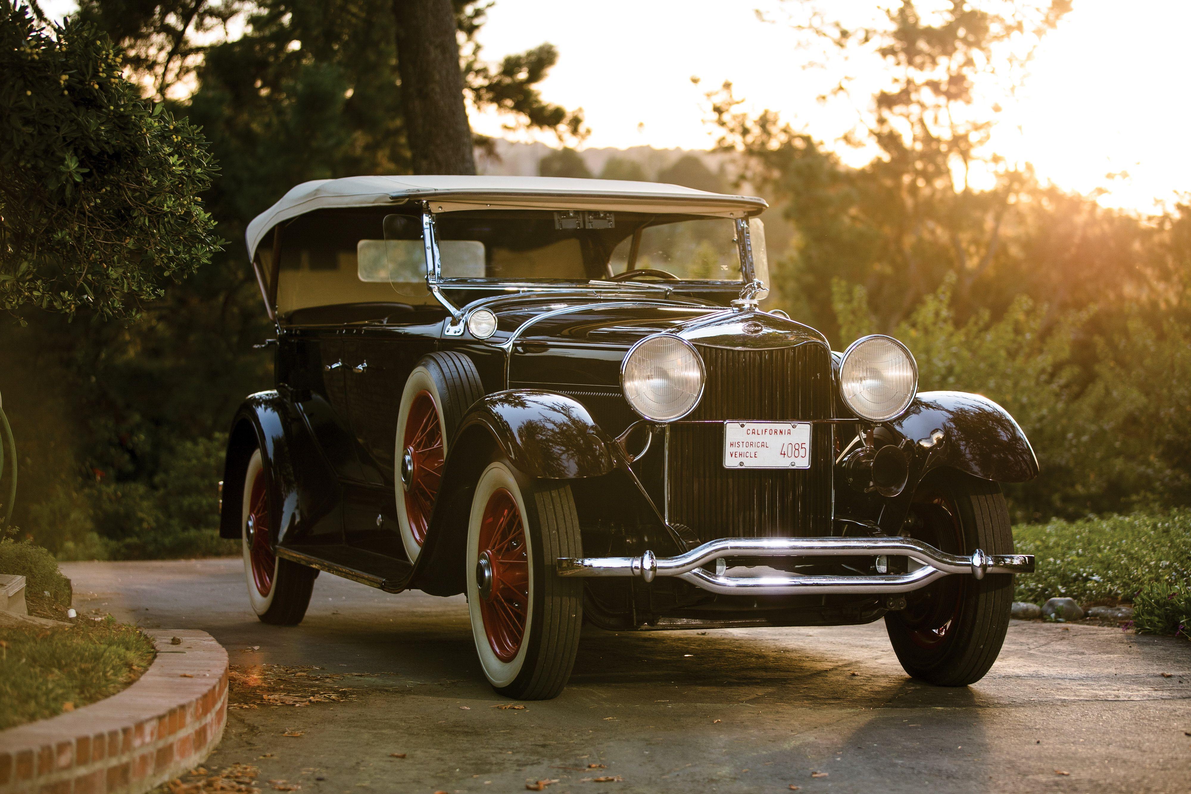 1929 1930 Lincoln Model L Sport Phaeton 176a