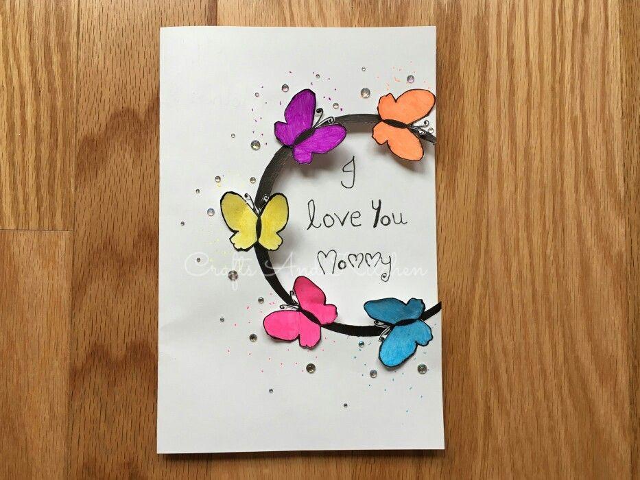 mothers day card handmade greeting card  teachers day