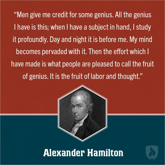 Quotes About George Washington By John Adams: Alexander Hamilton Education Quote