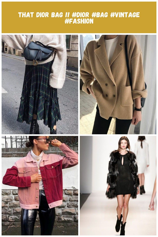 That Dior bag  WOMENS CLOTHING Fall fashion Vintage That Dior bag