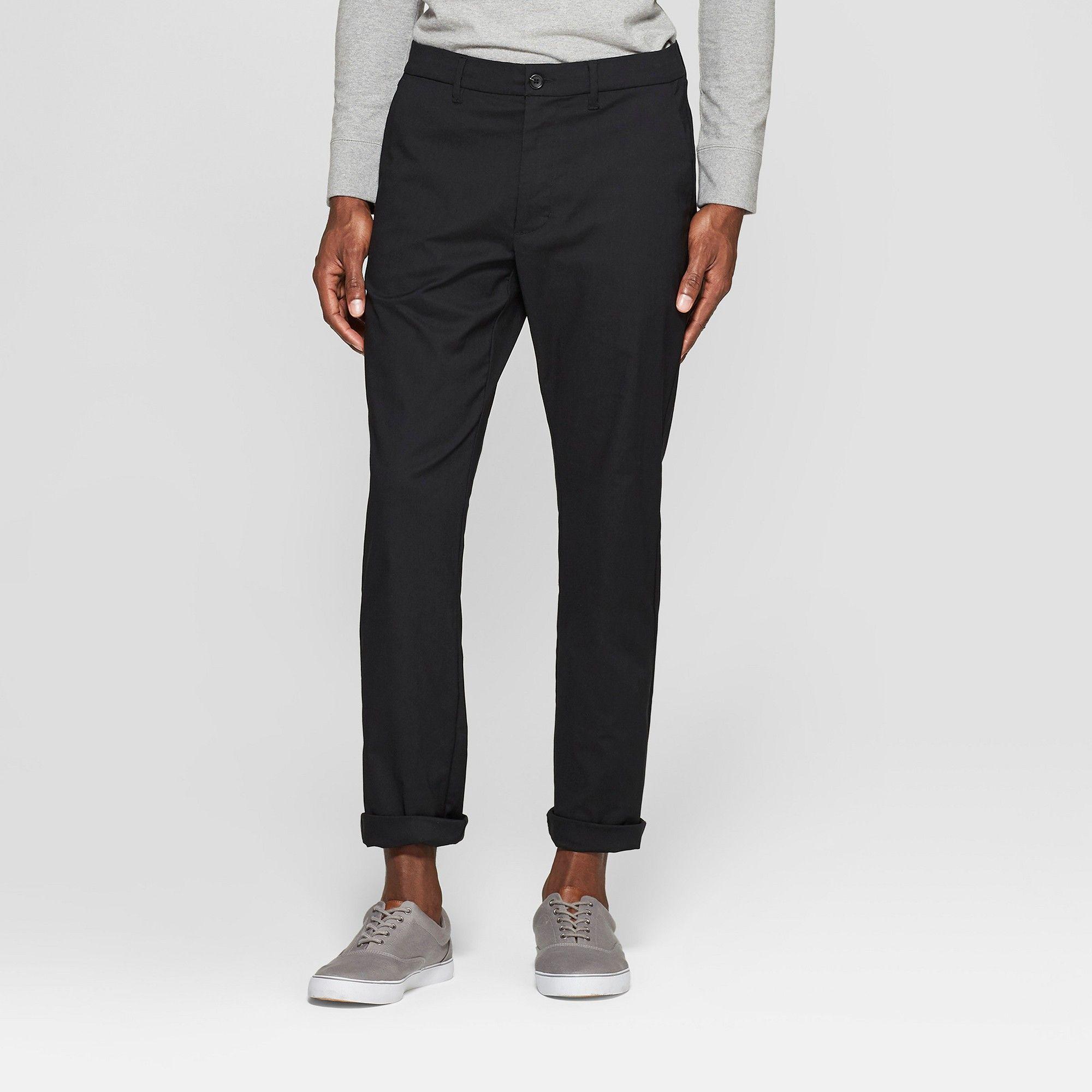 3f7e86dbbb5e Men's Tech Chino Pants - Goodfellow & Co™ Black 32x34 in 2019 ...