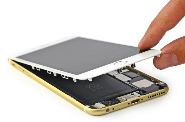 Iphone Screen Replacement That Comes To You Fix2u Celulares 6s Plus Conserto De Celular