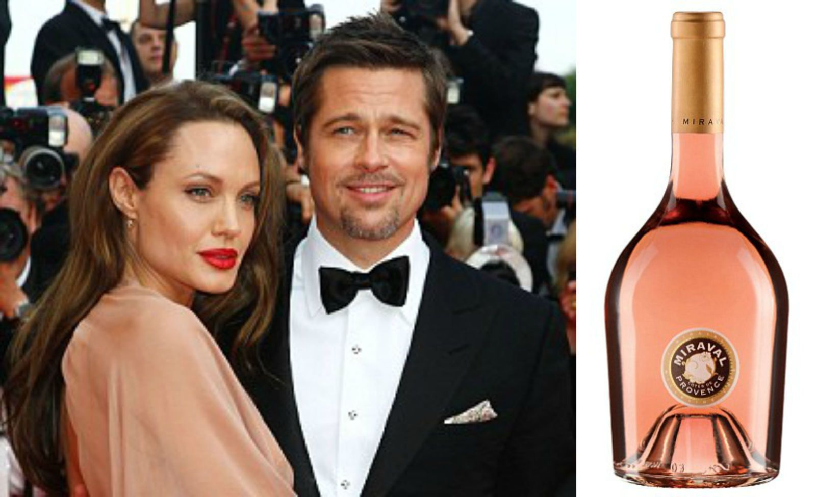 You Can Now Buy Wine Made By Brad & Angelina  - Delish.com