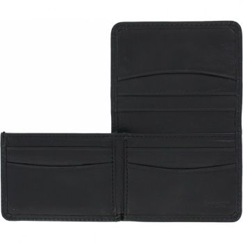 Brighton Leather Carnegie Flip Wallet