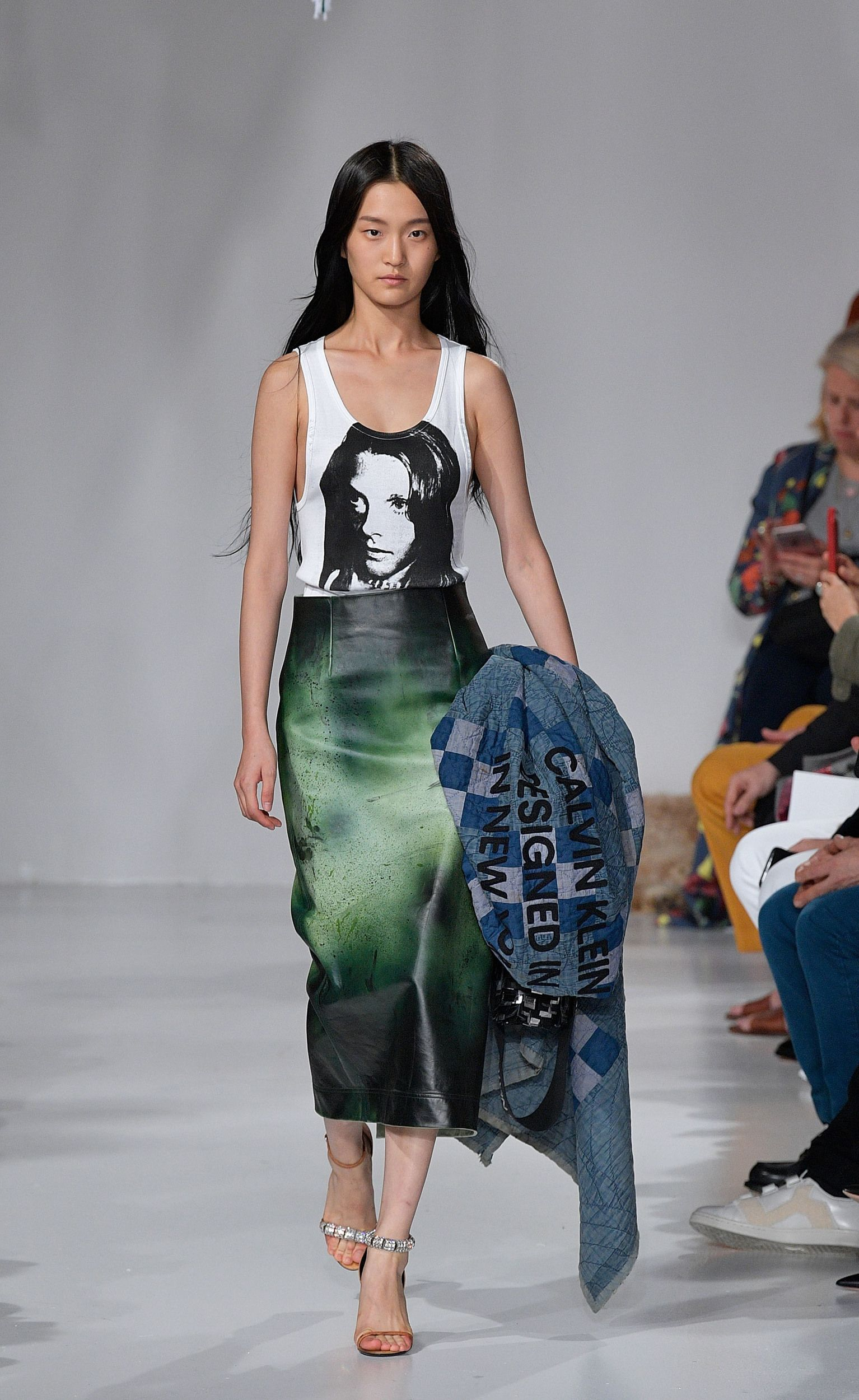 Calvin kleinus spring collection will leave you feeling