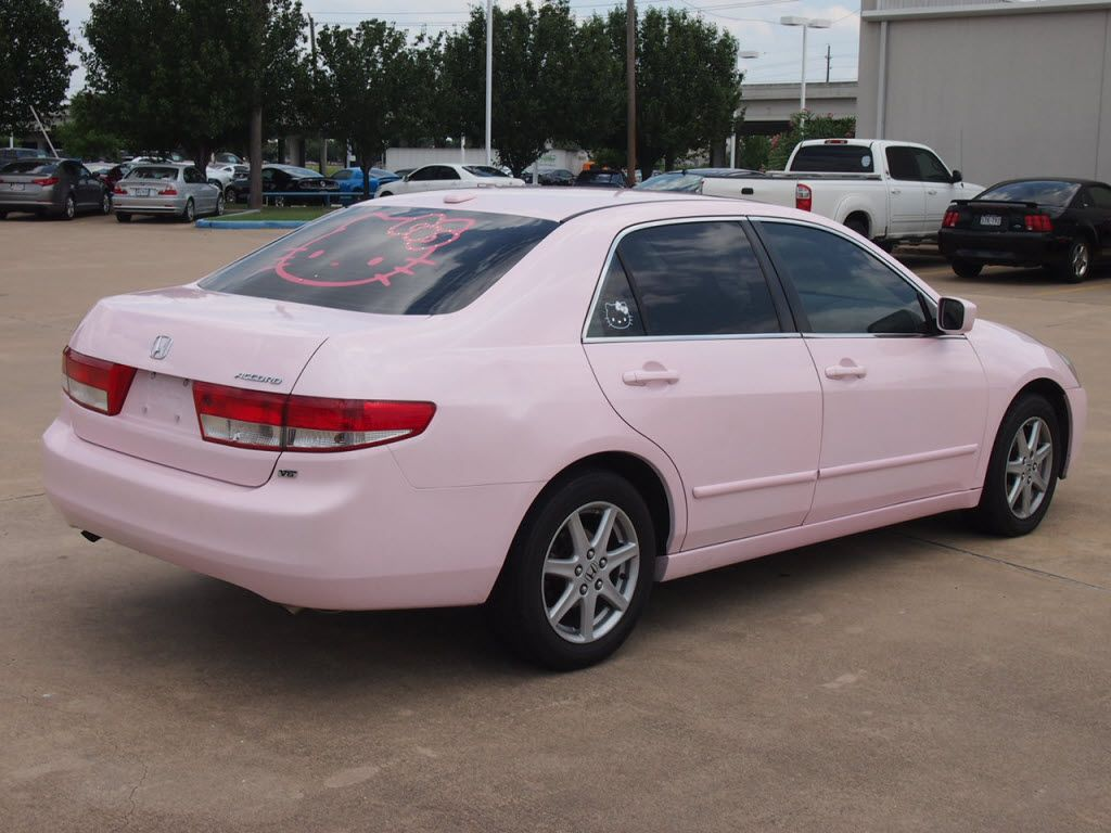 2004 Pink Honda Accord 3.0 EX w/Leather/XM Honda accord