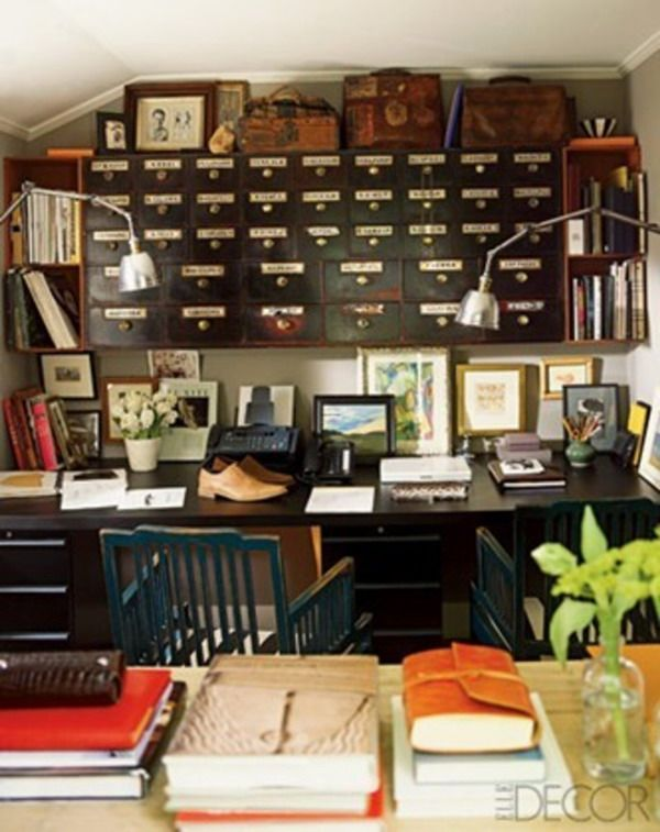 manly office | Work Space | Pinterest