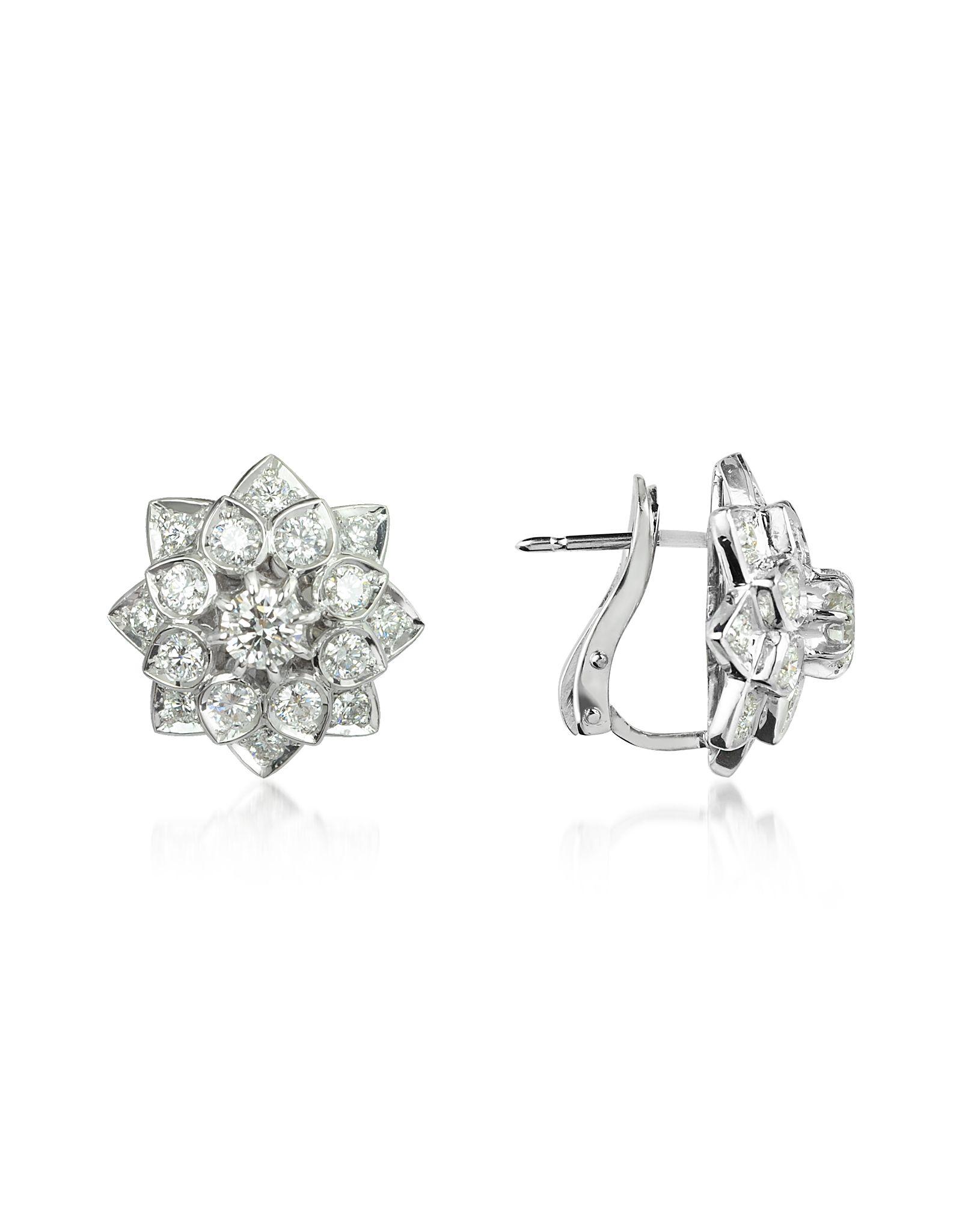 Incanto Royale 2.2 ctw Diamond 18K Gold Earrings 18k