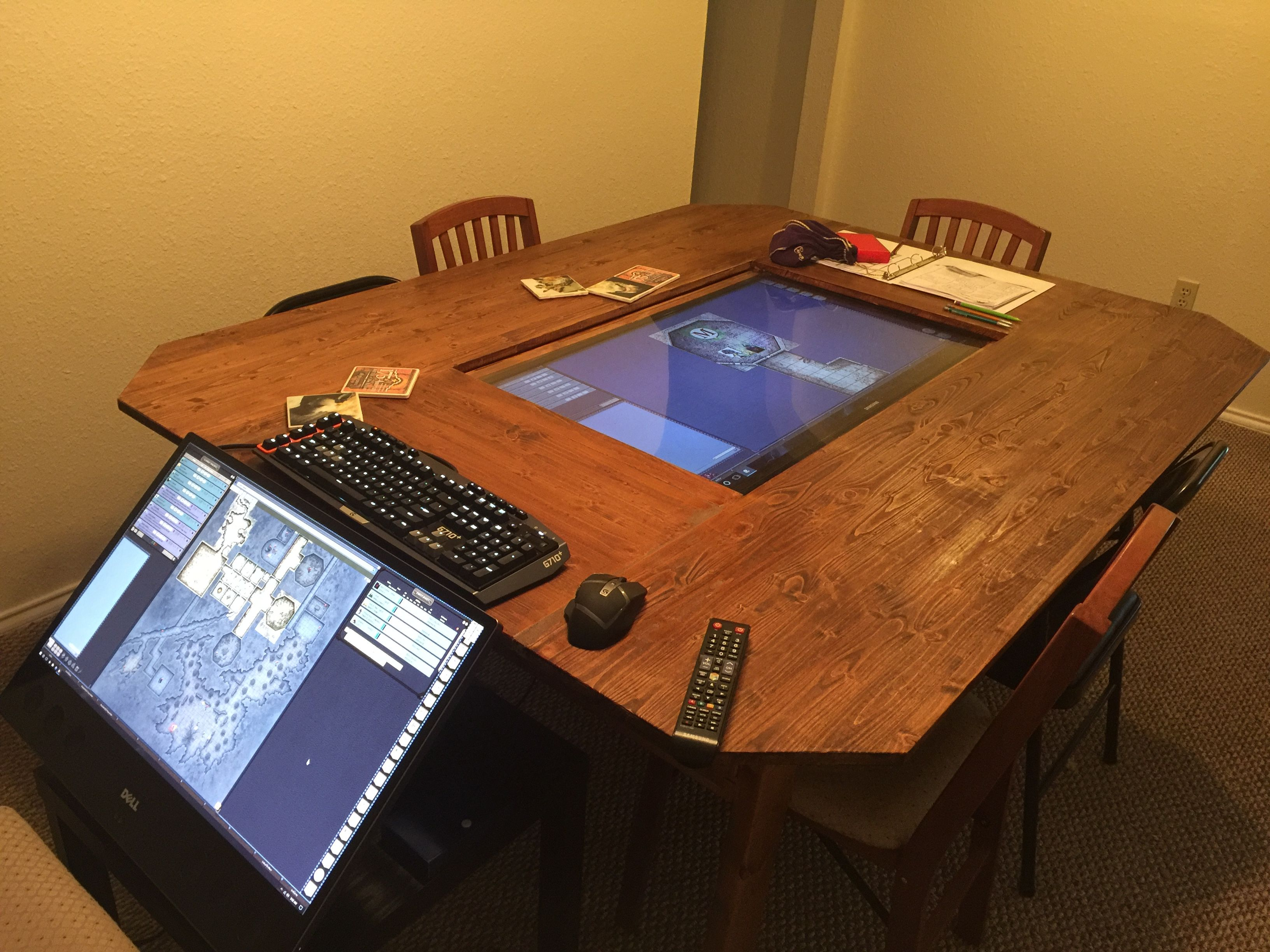 Dungeon Master Takes D Amp D To The Next Level With Diy Gaming