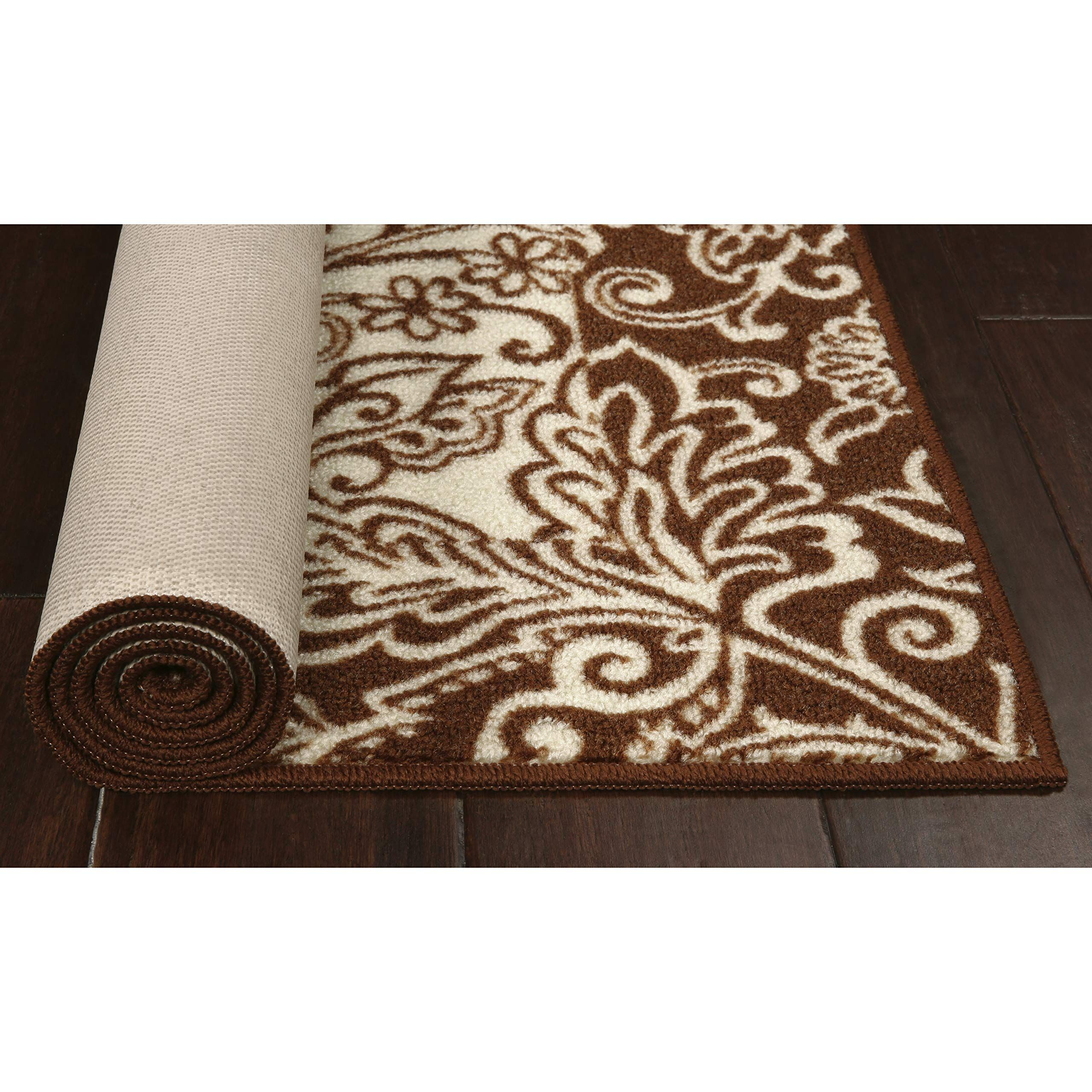 Maples Rugs Kitchen Rug Adeline 18 X 210 Non Skid Washable