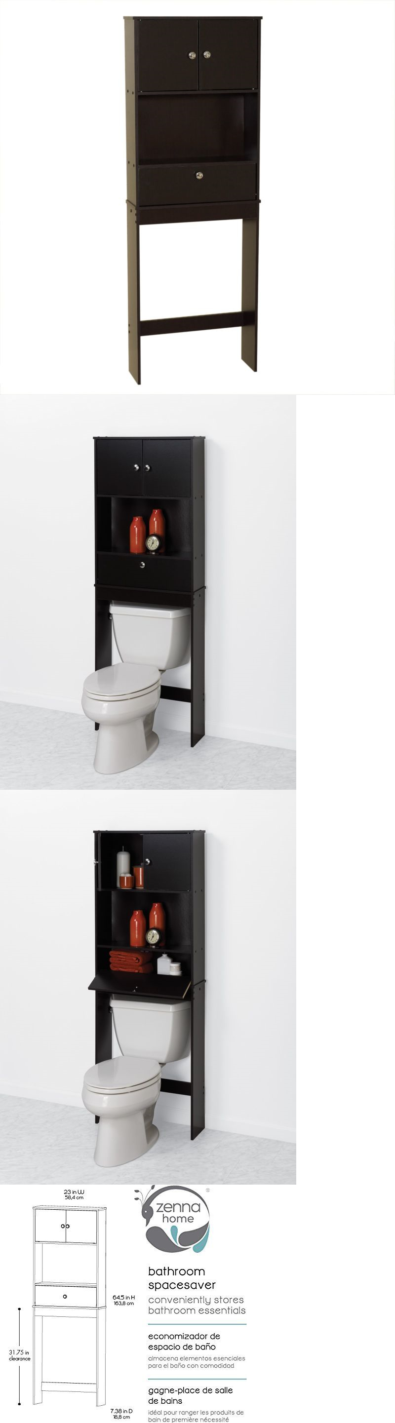 Bath Caddies and Storage 54075: Bathroom Spacesaver Drop Door Over ...