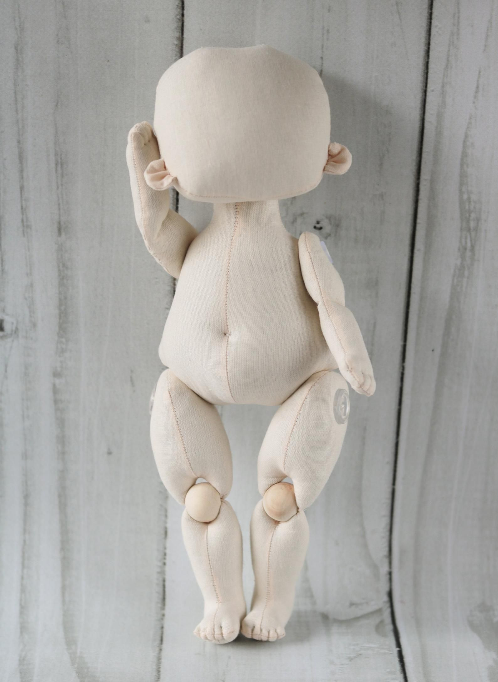 Blank dolls Handmade doll Make a doll blank Rag doll Fabric doll Doll supply Blank doll body Cloth doll body