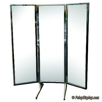 Free Standing 3 Way Alcove Mirror