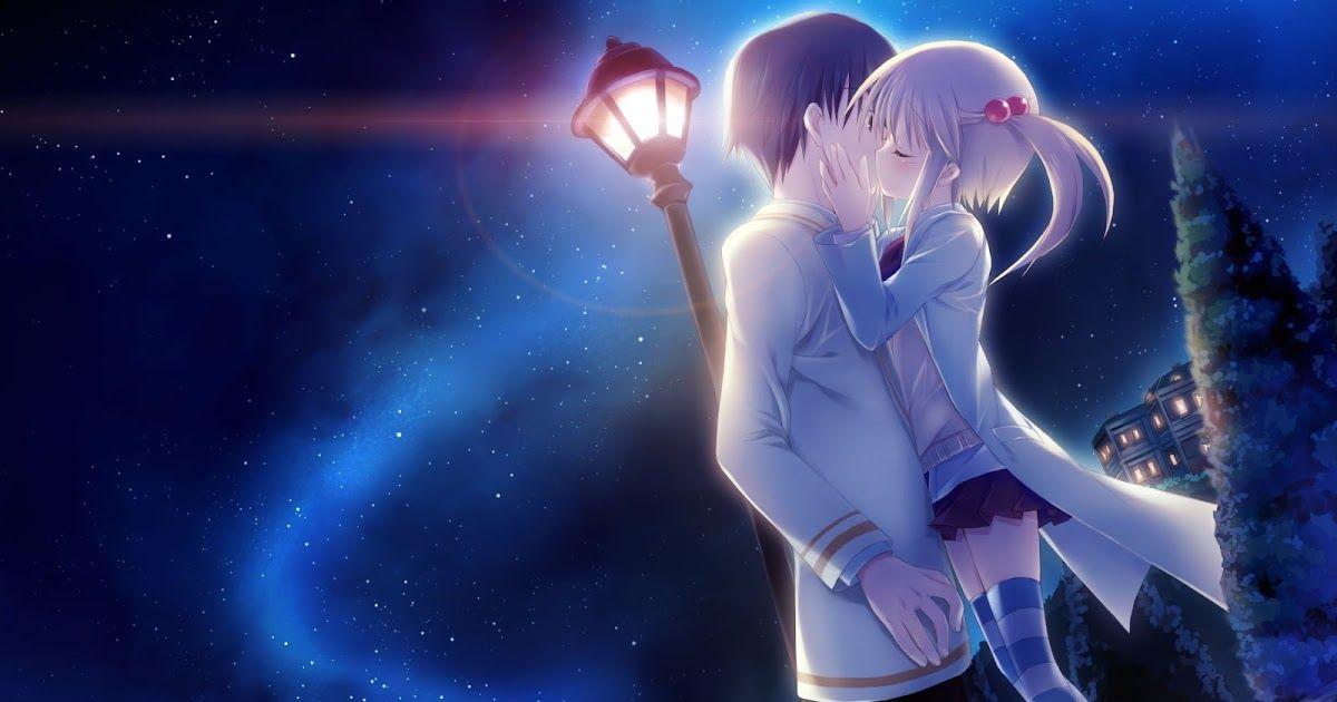 Two Anime Character Kissing Hd Wallpaper Wallpaper Flare Iphonepapers Com Iphone Wallpaper Av44 Anime Kiss Love Kiss Other Anime Background Wallpapers On Desk