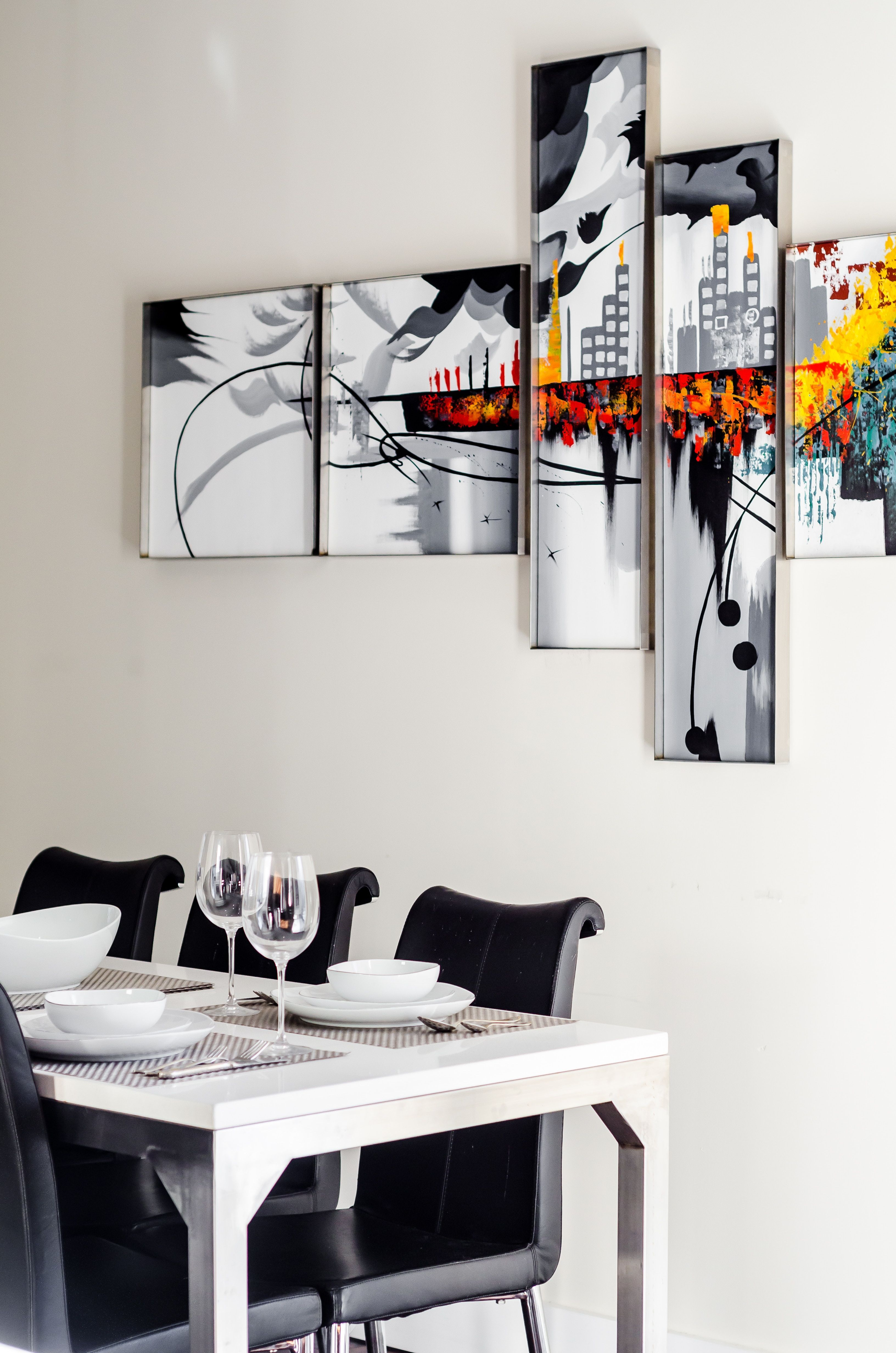 5 Dining Room Designs To Inspire You To Remodel Your Home Dining Room Wall Decor Modern Dining Room Dining Room Decor Modern