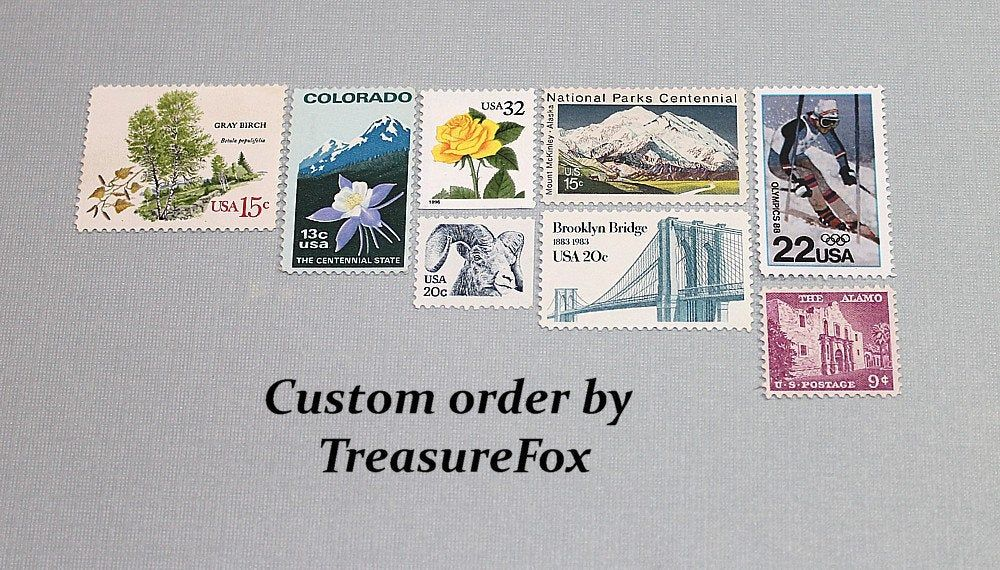Reserved Custom Order For Adrienne Unused Vintage Us