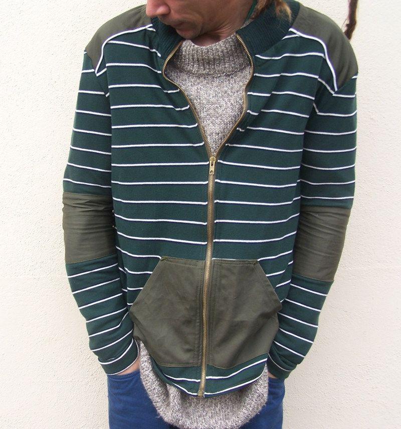 veste Basalte d'après grain de couture Ivanne Soufflet