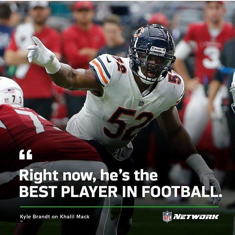 Bearswave On Instagram Khalil Mack Has Turned This Good Defense Into An Elite Defense I Have Always Said That This Defense With Images Mack Nfl Teams Chicago Bears