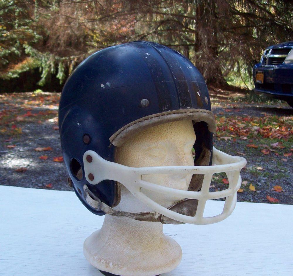 512673d21 Vintage 1960's-70's Hutch 663 Youth Football Helmet #Hutch | Raiders ...